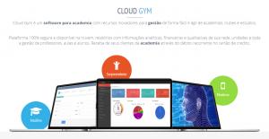 Sistema para academia Cloud Gym